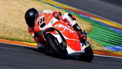 Local boy Terol on top in Moto2™ Valencia test day one