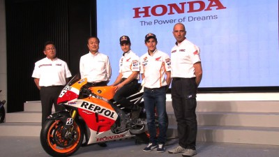 Honda 2013 Motorsports – from MotoGP™ to Moto3™