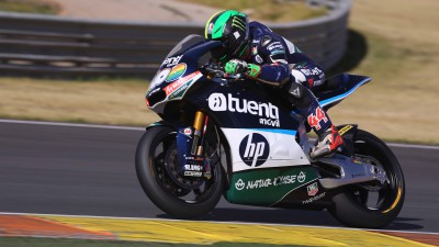 Espargaró gets the hammer down in Valencia