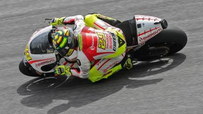 Iannone boucle trois jours d'essais privés à Jerez