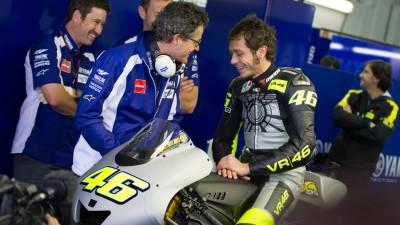"""Rossi : """"Beaucoup pensent que je devrais arrêter mais ce n'est pas mon avis !"""""""