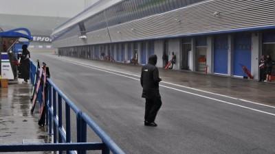 La pluie perturbe la fin du Test Moto3™ à Jerez