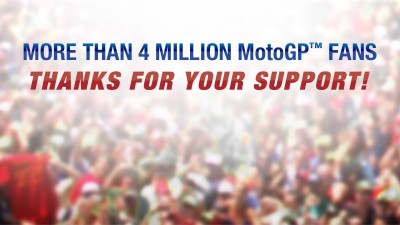 MotoGP™ reaches four million Facebook fans