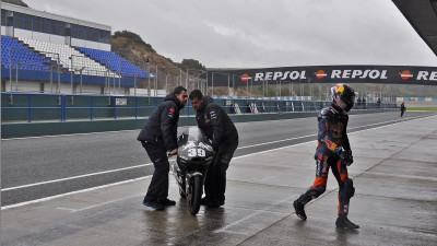 Rain frustrates most as Moto3™ leaves Andalucía