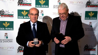 Carmelo Ezpeleta, galardonado por su gestión al frente de Dorna