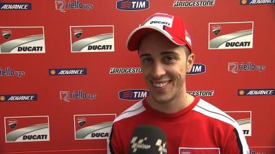 Ducati Team assesses new fuel tank in Malaysia
