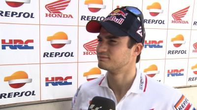 Les réactions de Pedrosa et Márquez à l'issue de la seconde journée d'essais
