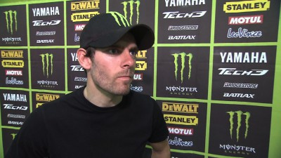 Crutchlow searches for better suspension settings