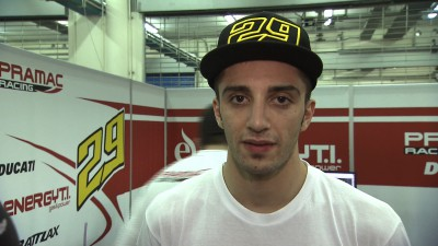 Iannone delighted to close gap to Ducati Team