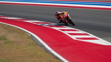 Márquez remains on top as Austin test continues