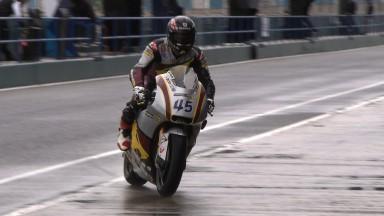 Redding führt 2. Testtag im verregneten Jerez