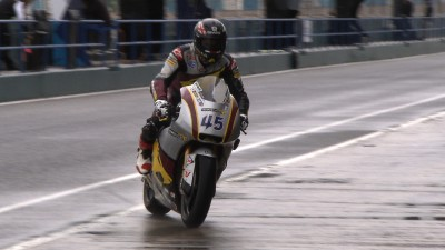 Redding on top of rain-hit Jerez test