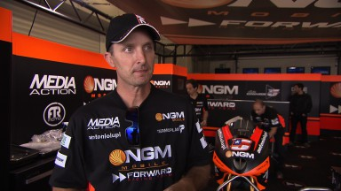 Edwards strebt CRT-Spitzenplatz in Losail an