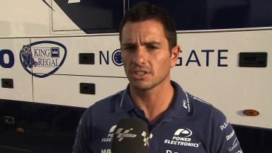 De Puniet cierra el top ten y lidera a los pilotos CRT en Jerez