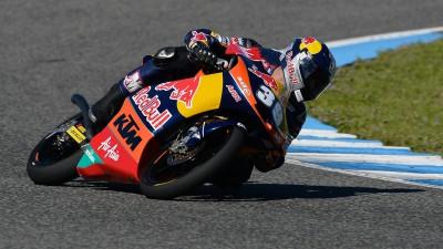 Salom finaliza la pretemporada con el mejor tiempo en Jerez