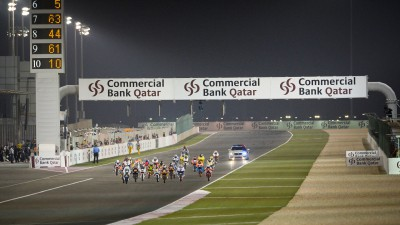 Moto3™ blasts back into action under floodlights