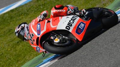 """Dovizioso: """"Han sido tres días importantes para el desarrollo de la moto"""""""