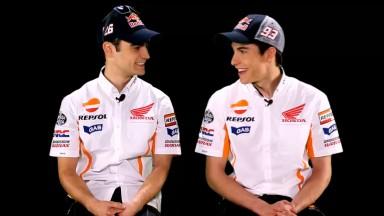 Pedrosa y Márquez hablan uno del otro