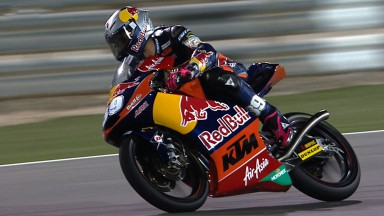 Luis Salom on pole position in Qatar