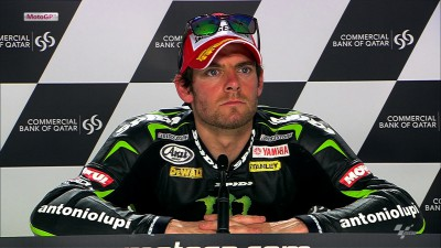 Crutchlow to threaten from second on grid
