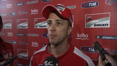 Dovizioso thrilled to put Ducati fourth on grid