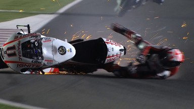 Spies hindered by crash in final practice