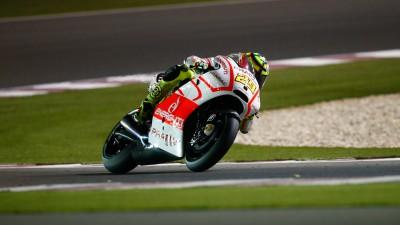 Iannone im Rennen von 'Arm-Pump' betroffen