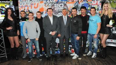 フランスGPの発表会に6名のフランス人ライダーが集結