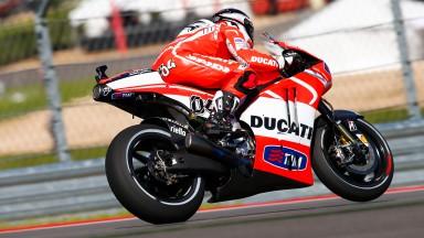 Una prima giornata intensa per il Ducati Team ad Austin