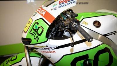 Gresini bikes running tribute to Kato
