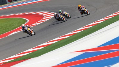 Hanika qualifies fastest in Austin for Red Bull MotoGP Rookies Cup