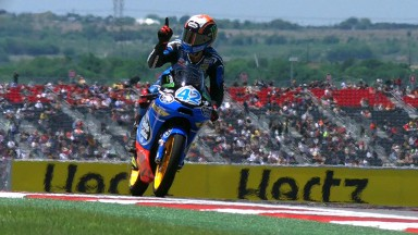 Rins seals impressive pole position in Austin