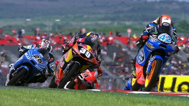 Rins wins interrupted opening race in Texas