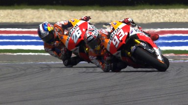 Marquez becomes youngest ever winner