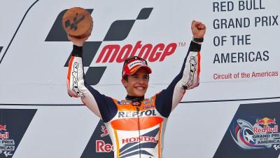 M.マルケス、デビュー2戦目の快挙はビアッジに次ぐ最短優勝