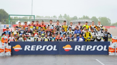 Martin, Syahrin, Fores and Habib to start from pole positions for CEV Repsol in Catalonia
