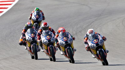 Hanika against the rest in Red Bull MotoGP Rookies Cup