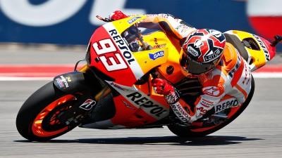 Márquez visera de nouveau le podium à Jerez