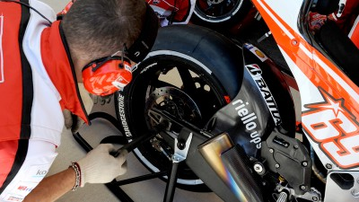 Bridgestone prepares Jerez-specific Wet tyre