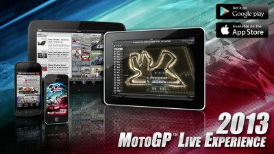 2013 MotoGP™ Live Experience App winning rave reviews