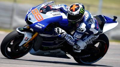 Lorenzo, por debajo del récord en el arranque del GP
