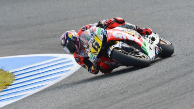 Tough day for Bradl ends in crash