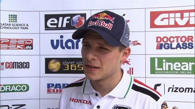Front end problems hold Bradl back