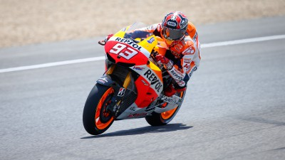 Marquez leads Spanish Warm-Up session