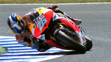 Pedrosa celebrates first win of 2013 in Spain