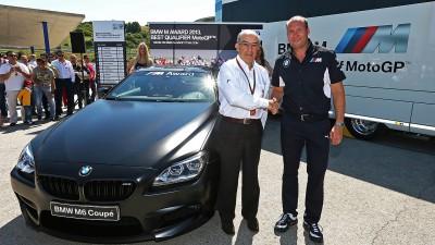 今季の予選最速者には、BMW・M6クーペを贈呈