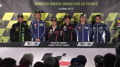MotoGP™ stars all smiles as press conference kicks off Le Mans