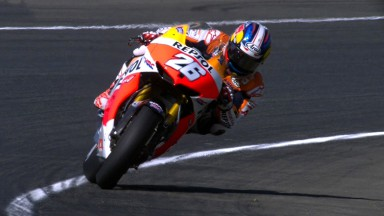 Pedrosa maintains leading form in France