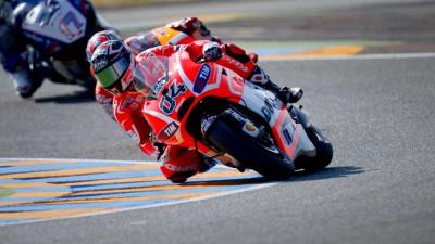 Inizio incoraggiante per il Ducati Team a Le Mans