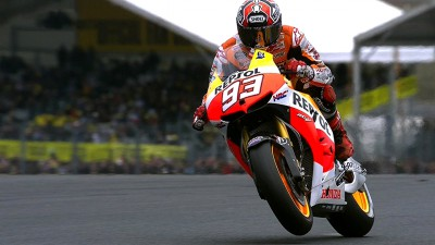 Marquez scorches to second pole position